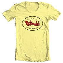 Ntage 1980 s fast food graphic tee 70 s 80 s yellow cotton tshirt for sale online store thumb200