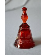 Viking Glass Ruby Red Mt Vernon Bell with Tag - $24.75