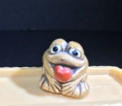 "1"" Miniature Brown Frog Mini - $5.45"