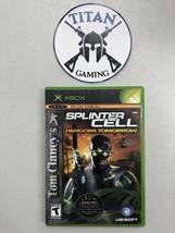 Tom Clancy's Splinter Cell: Pandora Tomorrow (Microsoft Xbox, 2004) - $9.36