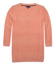 Tommy Hilfiger Damen Strukturiert Streifen Pullover (klein, Pfirsich) - $29.65