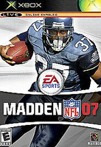 Xbox Live ~ Madden 07 NFL ~ Video Game Online Enabled 1-4 Multiplayer  E... - $9.88