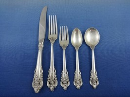 Grande Baroque by Wallace Sterling Silver Flatware Set Service Dinner 66... - $4,995.00