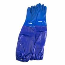 Yamitsu Full Length Blue Pond Care Gloves, Covers Full Arm, Multi Use Lo... - $25.69