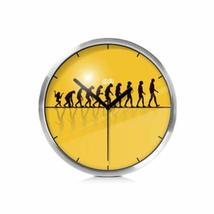 PANDA SUPERSTORE 8-inch Simple Design Decorative Wall Clock¡ª¡ª(Human Developmen - $41.86