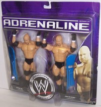 "NEW! 2006 Jakk's Adrenaline ""Jake"" & ""Jesse"" Action Figure Set WWE [1481} - $44.54"