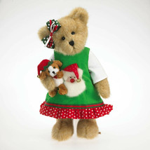 "Boyds Bears ""Chrissy Goodfriend w/Elfie"" #4023957- 12"" Plush Bear- New- ... - $69.99"