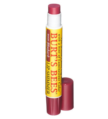 Burts bees lip shimmer in rhubarb 11