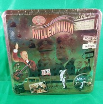 1000 piece Puzzle Millenium Tin 1950 60s NEW sealed JFK space race Khrushchev AE - $14.94