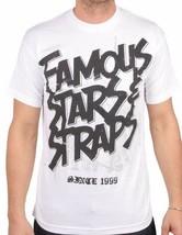 Berühmt Stars - & Riemen Stahl Weiß Fsas FMS Travis Barker Blink 182 T-Shirt