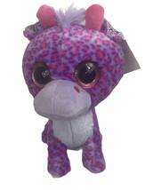 "Best Made Toys Purple Spotted Giraffe Plush 11"" Big Eye Stuffed Animal T... - $19.05"