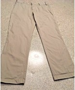 """Men's Barneys New York Beige Khaki 5 Pocket Pants -16"""" Leg Opening (32) - $51.43"""