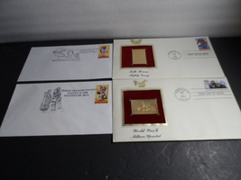 4 First Day Cover Issue  - $6.00