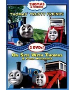 Thomas & Friends: Thomas Trusty Friends / On Site With Thomas (2 DVD'S) - $2.75