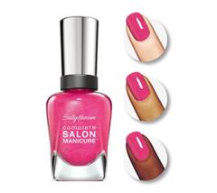 Sally Hansen Complete Salon Manicure Nail Polish, Back to the Fuschia, 0... - €6,09 EUR