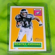NFL CHARLES JOHNSON EAGLES 2001 TOPPS HERITAGE FOOTBALL #89 MNT  - $0.59