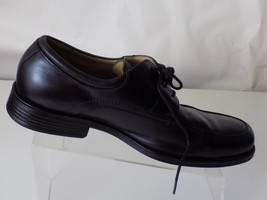 JOHNSTON& MURPHY; BLACK LEATHER; CASUAL LACE UP SHOES, MEN SIZE 10.5M - $31.67