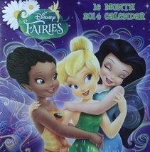 Disney Fairies 16 Month 2014 Square Wall Calendar - $3.33