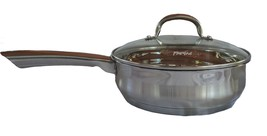 """Parini Signature Series 9.5"""" Chicken Fryer with Lid-Stainless New - $18.05"""