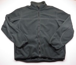 Green TIMBERLAND Outdoor Performance Fleece Full Zip Up Jacket Adult Men... - $39.56