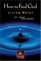 How to Find God: Living Water Forthose Who Thirst Tyndale House Publishers - $5.51