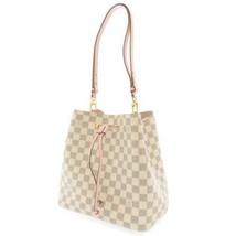 LOUIS VUITTON Neo Noe Damier Azur Eau de Rose N40152 Shoulder Bag Authentic - $1,721.05