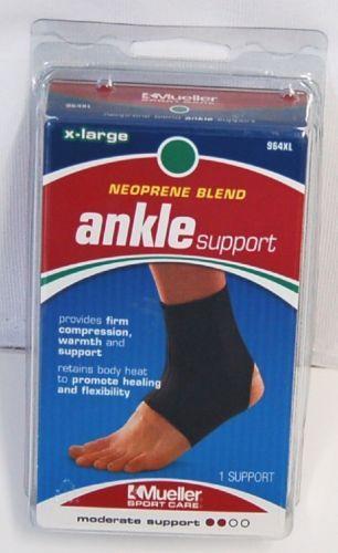 Mueller 964XL Neoprene Blend Ankle Support Size Extra Large Color Black
