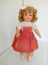 "Vintage Late 1940's Horsman 17"" Ruthie Stuffed Vinyl Magic Skin All Orig. w/Tag - $48.99"