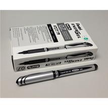 Pentel BL57 EnerGel 0.7mm Refillable Metal Tip Liquid Gel Pen (12pcs) - Black /  - $28.99