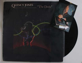 Quincy Jones Signed Autographed Record Album w/ Proof Photo - $29.99