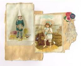 Three vintage Prints From Scrap Album - $0.99