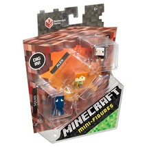 Minecraft Mini Figures Alex Black Sheep and Squid Netherrack Series Ages 6+ - $7.99