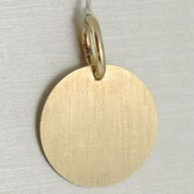 Pendant Yellow Gold Medal White 750 18k, Face of Christ and Prayer Gloria image 3