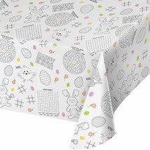 Kids Easter Paper Activity Tablecover All Over Print 54 x 88 - $8.59