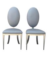 Design Institute of America High Back Modern Chairs-A Pair - $1,200.00
