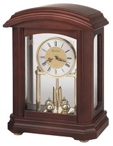 New in the Box Bulova B1848 Nordale Clock Walnut Finish - $118.80