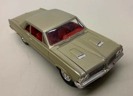 1964 Pontiac GTO Built Model Kit Nicely Detailed 1/25 Gold Red - $39.59