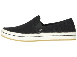 UGG BREN Black Women's Cotton Mesh Slip On Sneakers 1020090 - $79.00