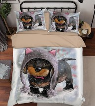 3D Baby Dog 272 Bed Pillowcases Quilt Duvet Cover Set Single Queen King ... - $90.04+