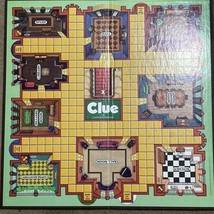 Game Parts Pieces Clue Classic Detective 1986 Parker Brothers Gameboard ... - $6.92