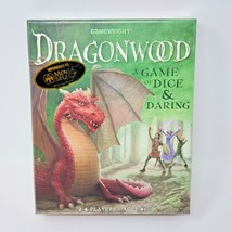 Dragonwood A Game of Dice & Daring Gamewright Kisgen Beatrice New Sealed  - $12.99