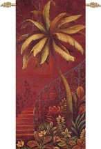 Palm Courtyard II Wall Tapestry - $142.00