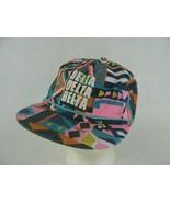 Delta Delta Delta Snapback Hat Cap Wild 80's Style Bright Colors 100% Co... - $14.84