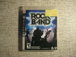 Rock Band 1 PS3 Playstation 3 2007 Harmonix Music Game - $12.25
