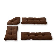 Greendale Home Fashions Nook Cushion Set, 4-Piece - $105.15