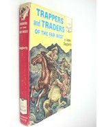Landmark Book 29 Trappers and Traders of Far West 1952 by James Daughert... - $19.79
