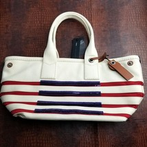 Marc Jacobs Totes Tropez Tote Bag,Ecru Breton Red MSRP $298 - $132.76