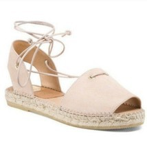 Anthropologie KANNA Suede Lace Up Espadrilles sz 8 - £34.38 GBP