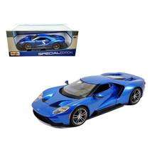 2017 Ford GT Blue 1/18 Diecast Model Car by Maisto 31384BL - $39.99