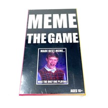 Meme The Game Adult 18+ Party Board Game Brand New Sealed in Box Fast Shipping - $18.78